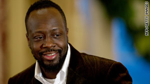 "Haitian-born musician Wyclef Jean said: ""Did I ever use Y�le money for personal benefits? Absolutely not,"""