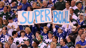 An assessment warns that while there are no known threats, the Super Bowl and nearby locations could be terror targets.