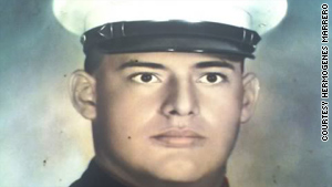 Hermogenes Marrero, as a young U.S. Marine, was stationed on the island of Vieques nearly 40 years ago.