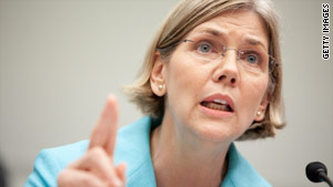 Harvard Law School professor Elizabeth Warren is chair of the oversight panel watching TARP spending.