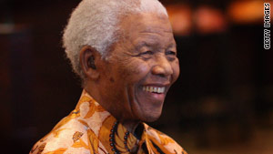 Nelson Mandela became South Africa's first black president after spending 27 years in prison.
