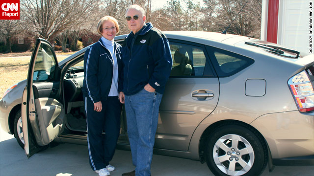 iReporters Barbara and Grover Walton say their Prius zipped through traffic and accelerated during cruise control last October.