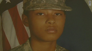 Alexis Hutchinson was not on the plane when her unit deployed to Afghanistan in November.