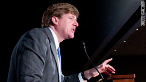 Rep. Patrick Kennedy said he will not run for re-election when his eighth congressional term expires.