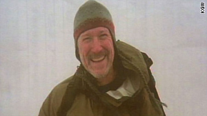 Joseph Bohlig, 52, fell Monday when a cornice on the edge of the volcano's crater crumbled, authorities say.