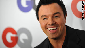 "Seth MacFarlane is creator of the animated show ""Family Guy,"" and voices several of its characters."