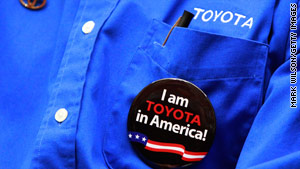 Toyota dealership owners rallied in Washington Tuesday as Congress opened hearings into recent vehicle recalls.