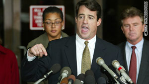 Douglas Gansler prosecuted John Mohammed and Lee Boyd Malvo in the D.C. sniper case in 2002.