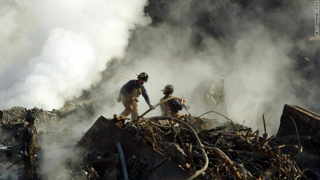 The settlement would provide a system to pay for claims made by people working on rescue and debris removal at ground zero.