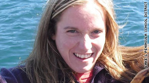 Candice Berner, 32, was killed by wolves while jogging near Chignik Lake, Alaska, last week.