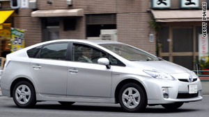 The Toyota Prius has been under fire in recent months over issues with its floor mats and accelerator.