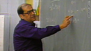 Jaime Escalante turned the failing calculus program at Garfield High into one of the nation's best.