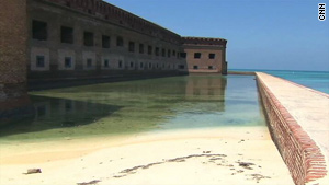 About $7 million has been allocated to repairing Fort Jefferson. It sees about 52,000 visitors a year.
