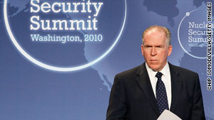 Presidential adviser John Brennan said al Qaeda has been trying to get a nuclear weapon for 15 years.