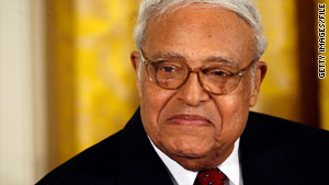 The NAACP's Benjamin L. Hooks received the Presidential Medal of Freedom, the highest U.S. civilian honor, in 2007.