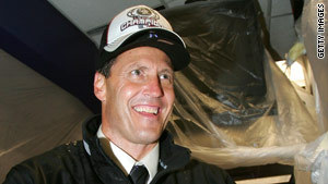 Colorado Rockies President Keli McGregor, pictured in 2007, was found dead in a Salt Lake City, Utah, hotel room Tuesday.