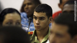 Gonzalez, now 16, is seen in one of several photos recently released by the Cuban government.
