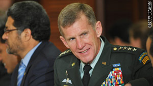 Gen. Stanley McChrystal is considering rewarding battlefield restraint.