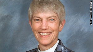 "The daughter of a priest, the Rev. Mary Glasspool has said that her sexual orientation is ""not an issue."""