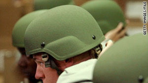Advanced Combat Helmets failed to meet ballistics testing standards, an Army official announced Monday.