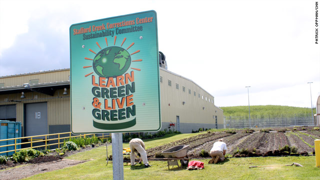 The Stafford Creek Corrections Center has saved hundreds of thousands of dollars through sustainable practices