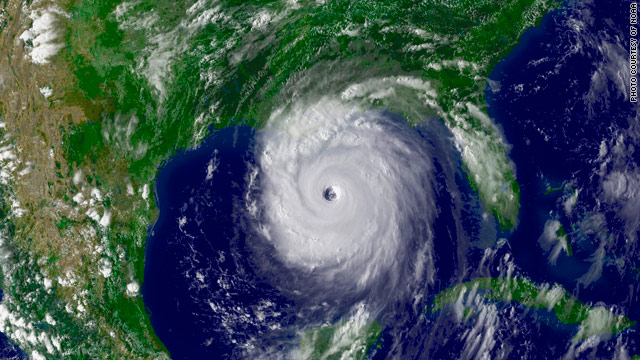 Hurricane Katrina cut a swath of destruction in 2005. Hurricane season adds another wrinkle to the massive Gulf oil spill.