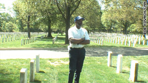 Interment foreman Darrell Stafford has worked at Arlington National Cemetery for nearly 28 years.