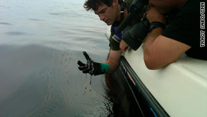 CNN's Rob Marciano on Wednesday tours areas affected by the recent BP oil spill.