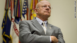President Obama plans to nominate retired Air Force Lt. Gen. James Clapper to be the new director of national intelligence.