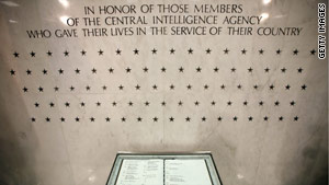 Twelve new stars have been recently added to the CIA's Memorial Wall.