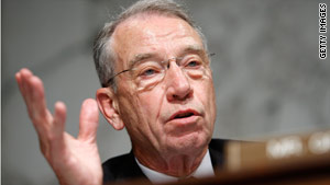 Sen. Charles Grassley questioned BP in a letter, asking if it has compiled with regulations from the MMS.