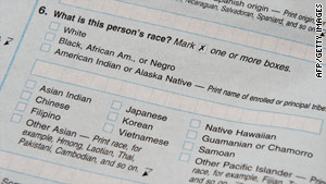 Race and ethnicity questions, which are required to be filled out on the census, were improperly completed by some Census workers.
