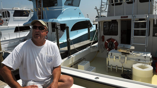 Fisherman Allen Kruse, a charter boat captain, took a job assisting in the oil spill clean-up. His body was found on his boat Wednesday, dead from a single gunshot to the head.