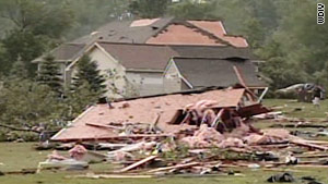 Four campers killed in severe weather