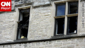 Windows at the University of Missouri were blasted out in explosion.