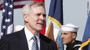 Navy Secretary Ray Mabus is leading the Gulf Coast long-term recovery effort.