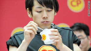 Takeru Kobayashi, won Nathan's July Fourth International Hot Dog Eating Contest every year from 2001 to 2006.