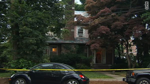 Law enforcement officials removed materials from this home in Yonkers, New York.