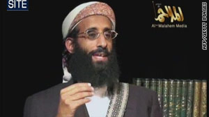This still image of Anwar al-Awlaki was obtained from video on May 22 courtesy of the SITE Intelligence Group.