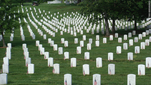 The remains of Pvt. Thomas Costello, killed in action in 1918, were buried at Arlington National Cemetery on Monday.