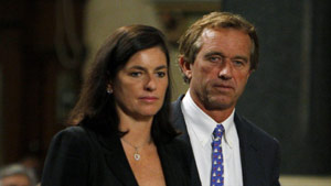 Mary Kennedy and Robert F. Kennedy Jr., seen in a 2009 photo, are in divorce proceedings, according to court records.