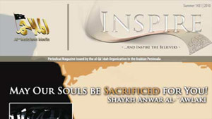"Al Qaeda's online magazine ""Inspire"" featured an article called ""Make a Bomb in the Kitchen of Your Mom."""