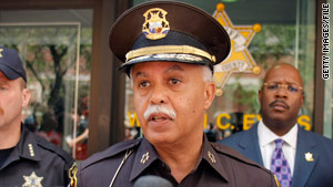 Warren Evans has been Detroit police chief since summer 2009. He was previously Wayne County sheriff.
