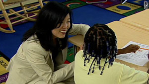 "Schools Chancellor Michelle Rhee said all D.C. public school students have ""a right to a highly effective teacher."""