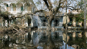 Hurricane Katrina killed more than 1,800 people when it struck the Gulf Coast in 2005.