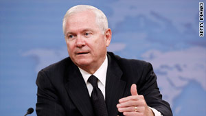 Defense Secretary Robert Gates noted an increase of nearly 1,000 employees in his own office in the past decade.