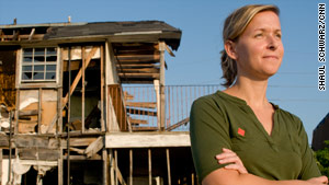 Liz McCartney, co-founder of the St. Bernard Project, was voted CNN Hero of the Year in 2008.