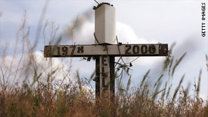 Crosses are common memorials beside U.S. roads, but a court says a government entity cannot erect them.
