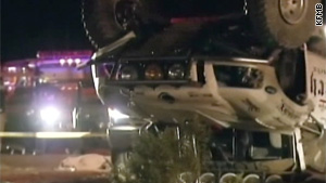A truck taking part in a 200-mile race crashed in Southern California last week, killing eight.