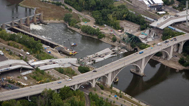 The Interstate 35W bridge, which spanned the Mississippi River, collapsed during rush hour on August 1, 2007.